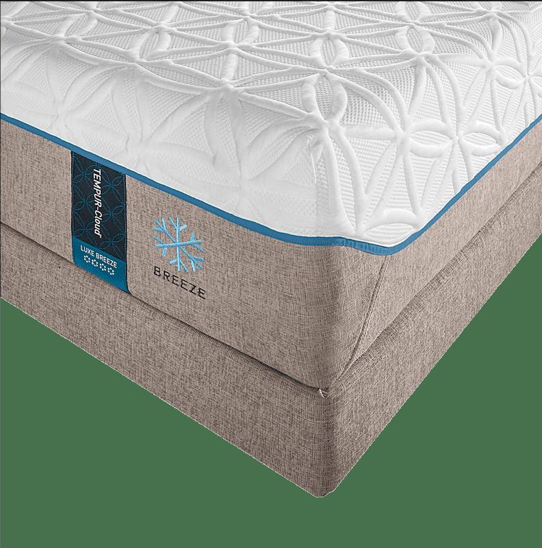 Tempur Cloud Luxe Breeze Bed Pros Mattress
