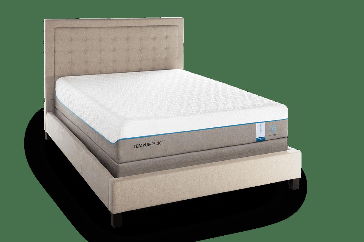 Tempur Cloud Supreme Breeze Bed Pros Mattress