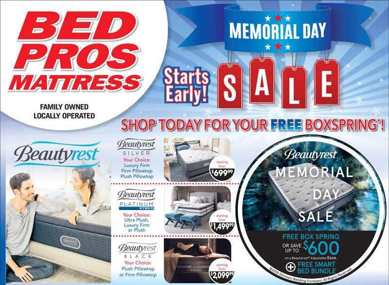 Beautyrest Memorial Day Mattress Sale