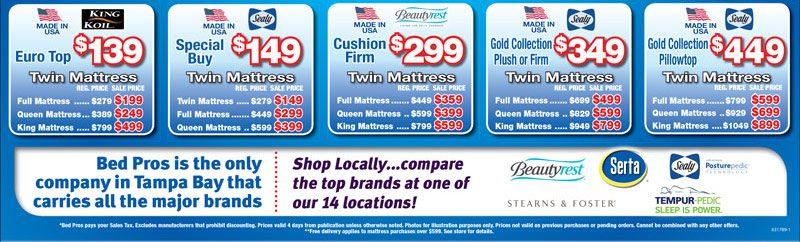 Discount Mattress Sale